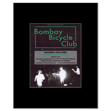 BOMBAY BICYCLE CLUB - London 2010 Matted Mini Poster