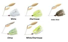 Booyah Double Willow Spinnerbaits - Assorted Sizes and Colors