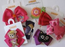 Gymboree Barrettes Many lines Gingerbread Deer Snowman Mouse Bee Unicorn New