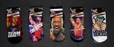 WWE JOHN CENA & THE ROCK 3 or 5-Pack Low Cut Ankle Socks NWT Boys/Kids Ages 4-10