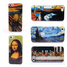 UV Printing World Famous Painting Case Cover for iPhone 5 5G 5GS 5S