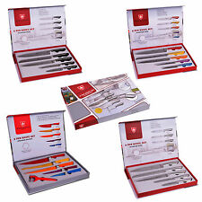 COFFRET 5 COUTEAUX INOX IMPERIAL COLLECTION NEUF
