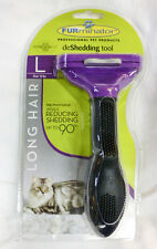 FURminator Cat deShed Tool Reduce Shedding Long & Short Hair CHOOSE SIZE & STYLE