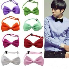 Unisex Men Women Formal Casual Bow Tie Party Wedding Neckwear Pre-tied Necktie