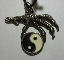 Eagle Claw Ying Yang Charm Pendant Necklace Choker - 5 STYLES - Your Choice...!