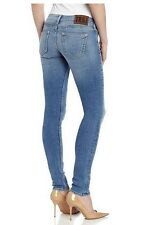 NEW $194 TRUE RELIGION Jeans Stella Skinny Lowrise Blue Denim 25, 26, 30, 32 x32