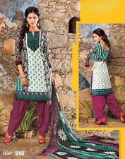 Designer Bollywood Printed Patiala Style Salwar Kameez Suit (Any Sizes) Heer-215