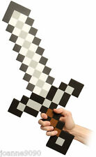 NEW MINECRAFT STEVE VIDEOGAME VIDEO GAMES THINK GEEK GAMER GIFT FOAM IRON SWORD
