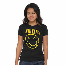 Nirvana - Smile Tissue Women T-Shirt Black