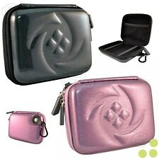 Kozmicc Hard Shell Case Cover Carrying Bag w/Carabiner for Sony Digital Cameras