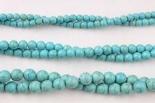 Natural Turquoise Loose Beads Strand Gemstone size 6mm 8mm 10mm for DIY bracelet