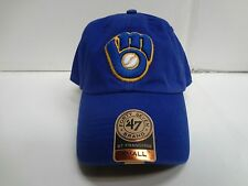 Milwaukee Brewers Franchise '47 Brand Fitted Cap Blue Unstructured Hat