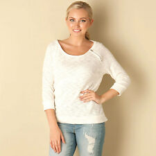 Only Womens Magne Zipper ? Top In White From Get The Label