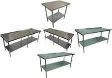 HANDYIMPORTS BN COMMERCIAL CATERING KITCHEN #304 #430 WORK BENCH MULTIPLE SIZES