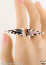 House of Harlow 1960 Nicole Richie Isosceles Reflection Ring