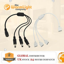 LED 3528/5050 Strip Wire Connector AC DC Female Male Power Supply Cable Splitter