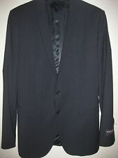 NWT $1395 DOLCE & GABBANA Martini Woven Black Wool DESIGNER Jacket MADE IN ITALY