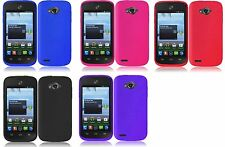 Silicone Case for Straight Talk ZTE Savvy Z750C / Awe N800 / Reef N810 Phone
