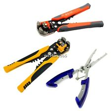 Automatic Wire Stripper Line Hook Pliers Multifunctional Terminal Tool  N4U8