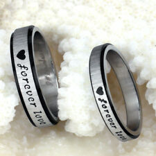 2014 fashion jewelry Stainless Wedding Engagement Love Heart Rings for Men Women