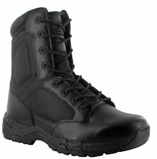 "Magnum 8"" Mens VIPER PRO 8.0 Side Zip SZ Black Police Army Military Boots 5475"