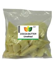 UNREFINED COCOA BUTTER -Pure & Natural - Edible Food Grade Chocolate/Cosmetics