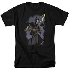 Watchmen Alan Moore Rorschach Panel Rooftop Comic Book Movie Adult T-Shirt Tee