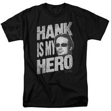 Californication Hank Is My Hero Vintage Style Showtime TV Show T-Shirt Tee