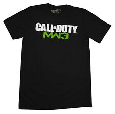 Call Of Duty Modern Warfare 3 Logo MW3 Video Game T-Shirt Tee