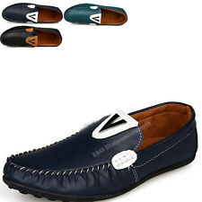 Men Spring Zapato Driving Moccasin Casual Sneakers loafer Slip on V Shoes MS620