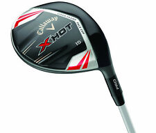 CALLAWAY GOLF X HOT PRO & 3 DEEP FAIRWAY WOODS - Pick loft & flex RH & LH CLUBS