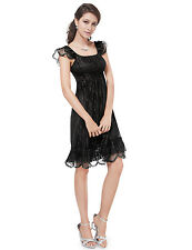 Ever Pretty Women US Lace Cap Sleeve Casual Dress / Cocktail Party Dress 02713