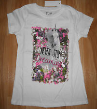 Girls Unicorn/Horse Shirt~NWT~Stars & Sparkles~Never Stop Dreaming~Great Gift~