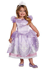 DELUXE Disney Sofia The First Licensed Child Princess Costume