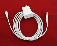 NEW 10 Ft Micro USB Cable + OEM Samsung 2A Rapid Home Wall AC Adapter Charger