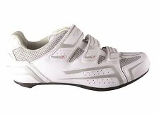 TKX 1138-02 WHITE ROAD BIKE CYCLING SHOES (COMPATIBILITY LOOK / SHIMANO CLEATS)
