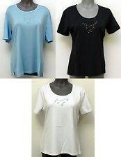 MAGLIFICIO  ITALY FASHION WOMEN'S SHORT SLEEVE T-SHORT. COLOR. SIZE VARIATIONS