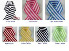 "5/8"" Candy Stripe Ribbon -Select Color - 5/8"" Width - 10 or 50 Yard Roll"
