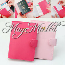Bowknot Crown Buckles E-Passport Protect Cover Passport Case Holder New