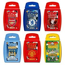 Top Trumps - Football Packs (Select your chosen pack via the drop down menu)