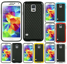 NEW FUSION TPU CANDY SKIN HARD COVER HOLOGRAM CASE FOR SAMSUNG GALAXY S5 PHONE