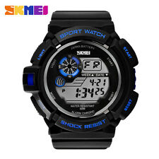 New Mens Women Sports Watches Military Multifunctional Casual LED Digital Watch