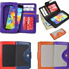 New Reliable Lady Leather Wallet Screen Protective Case Cover for Smartphone