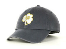 Notre Dame Fighting Irish NCAA White Clover Franchise Hat Cap University ND IN