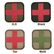 Condor 231 Medic Patch EMS EMT First Aid Red Cross Military Badge Velcro Backing