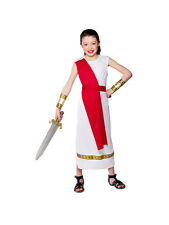 Child Roman Girl Outfit Fancy Dress Costume Book Week Toga Kids Girls