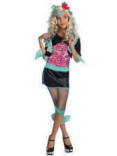Child Lagoona Blue Outfit Fancy Dress Costume Monster High Halloween Girls BN