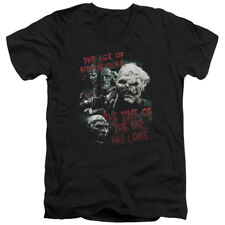 The Lord of The Rings Movie Time of The Orc Adult V-Neck T-Shirt Tee
