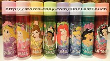 *LIP SMACKER Flavored Balm/Gloss DISNEY PRINCESS Shimmers *YOU CHOOSE* 1/10