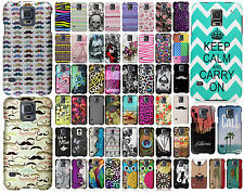 For Samsung Galaxy S5 Rubberized HARD Protector Case Snap Phone Cover Accessory